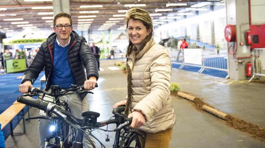 E-bike Challenge first edition in Flanders Expo Ghent