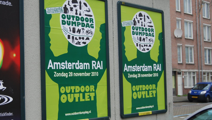 Our one and only Outdoor dump day 2010 Amsterdam RAI